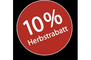 10% Herbstrabatt