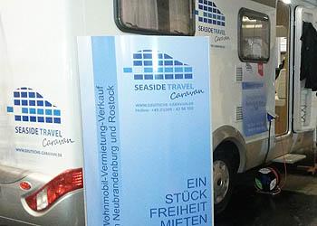 Wohnmobile auf der Viva Touristika 2015 in Rostock