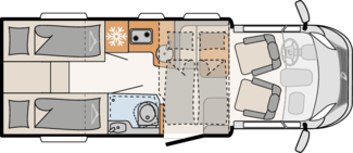 Wohnmobil Dethleffs T6812 EB günstig mieten